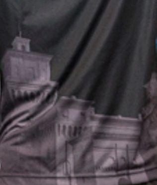 La riproduzione del castello estense sulla maglia della SPAL