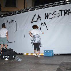 Composizione murales nuova maglia Spezia Calcio