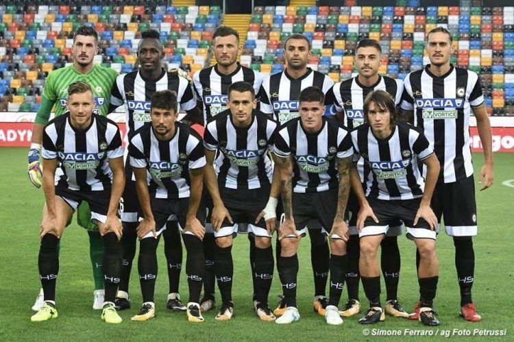 Divisa Udinese home 2017-2018