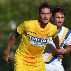 Divisa Udinese precampionato 2017-2018 gialla