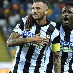 Thereau con la maglia dell'Udinese 2017-2018