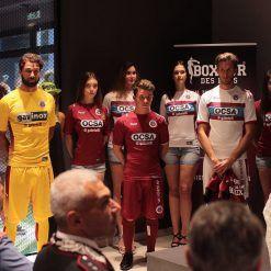 La presentazione delle maglie del Cittadella Boxeur Des Rues