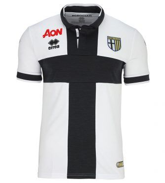 Maglia Parma 2017-2018 crociata