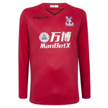 Crystal Palace, maglia portiere rossa 2017-2018
