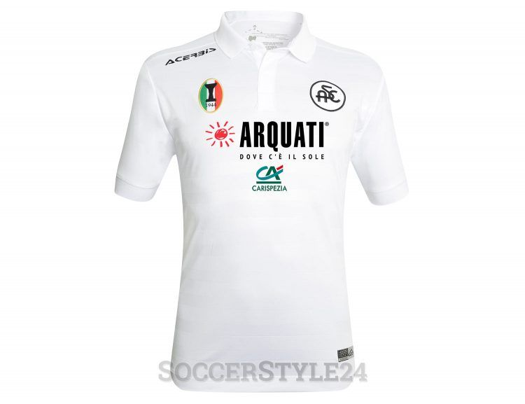 Maglia Spezia 2017-2018 bianca