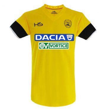 Seconda maglia Udinese 2017-2018 gialla