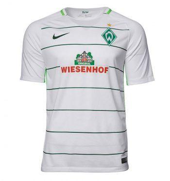 Seconda maglia Werder Brema 2017-2018 bianca