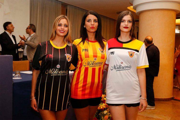 Maglie Benevento 2017-2018 Serie A