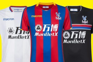 Maglie Crystal Palace 2017-2018