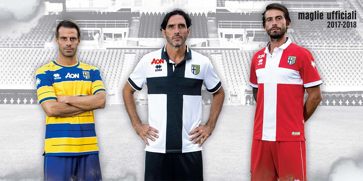Maglie Parma 2017-2018 Serie B
