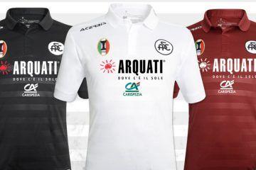 Maglie Spezia 2017-2018 Acerbis