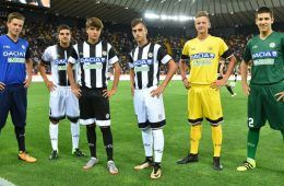 Maglie Udinese 2017-2018 Serie A