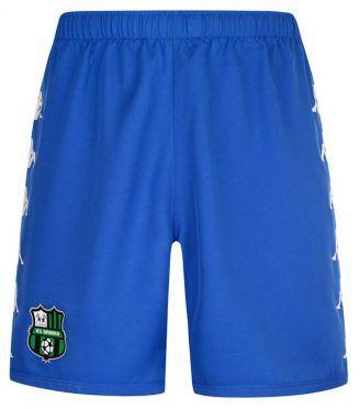 Pantaloncini Sassuolo azzurri terza divisa 2017-2018