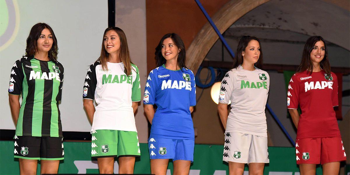 Presentazione maglie Sassuolo 2017-2018