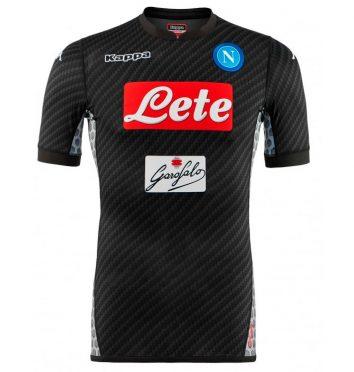 Quarta maglia Napoli 2017-2018 Karbon