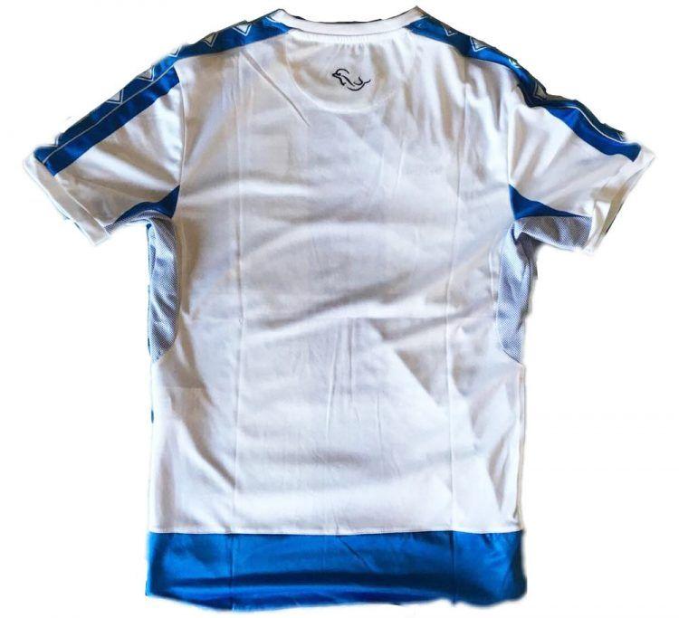 Il retro bianco della maglia del Pescara 2017-18