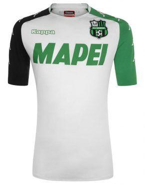 Seconda maglia Sassuolo 2017-2018 bianca