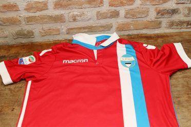 Seconda maglia Spal 2017-2018 rossa