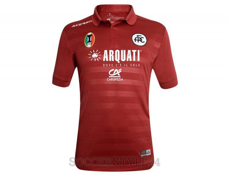 Terza maglia Spezia bordeaux 2017-2018