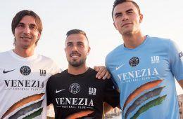 Le nuove maglie del Venezia 2017-2018