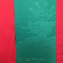 La viverna sullo sfondo della maglia della Ternana