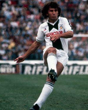 Zico maglia Udinese 1983-1984