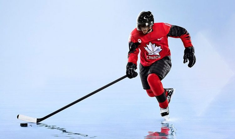 Maglia hockey Canada Olimpiadi Pyeongchang 2018
