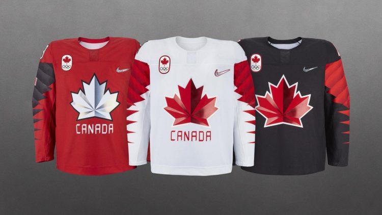 Maglie hockey Canada Olimpiadi Pyeongchang 2018