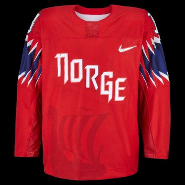 Maglia hockey Norvegia Olimpiadi Pyeongchang 2018