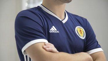 Maglia home 2018 della Scozia