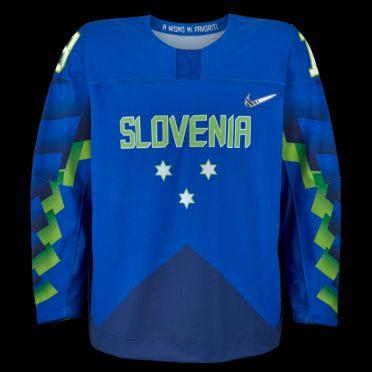 Maglia hockey Slovenia Olimpiadi Pyeongchang 2018