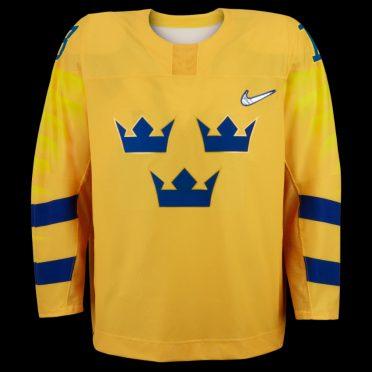 Maglia hockey Svezia Olimpiadi Pyeongchang 2018