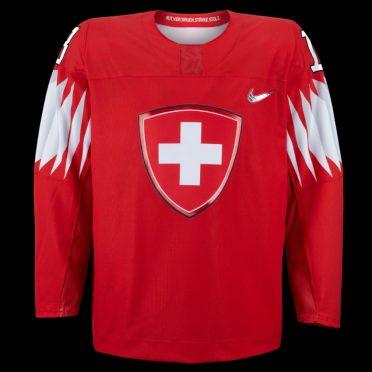 Maglia hockey Svizzera Olimpiadi Pyeongchang 2018