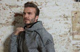 Beckham, inaugurazione adidas Store Milano