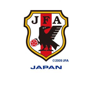 Lo stemma precedente della nazionale giapponese