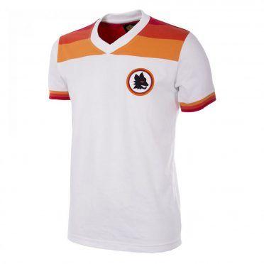 Seconda maglia AS Roma bianca 1978-1980