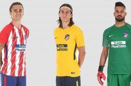 Le nuove maglie dell'Atletico Madrid 2017-2018