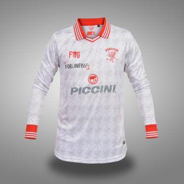 Perugia away 2017-2018, fronte, maniche lunghe