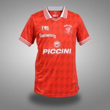 Maglia Perugia home 2017-2018, fronte