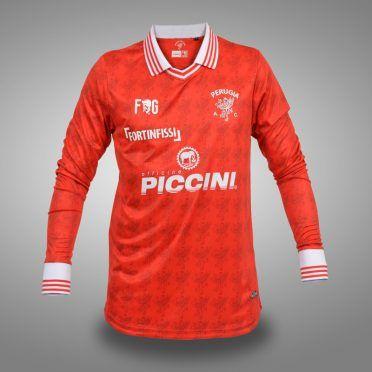 Prima maglia Perugia 2017-2018 maniche lunghe
