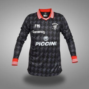 Perugia third 2017-2018, fronte, maniche lunghe