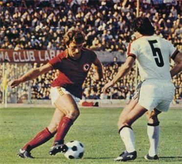 Pruzzo in Roma-Milan, 1978-1979