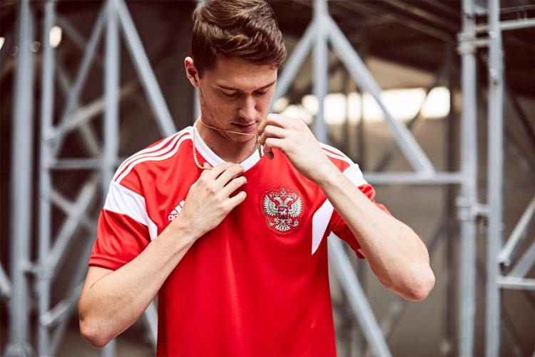 Russia maglia Mondiali 2018 adidas