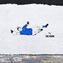 Murales portiere Gigi Buffon