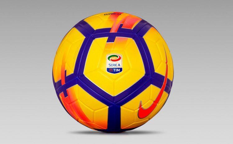 Pallone Serie A giallo 2017-2018