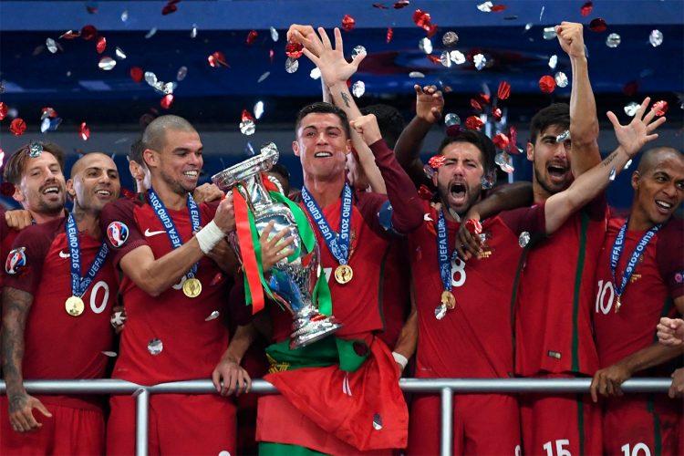 Il portogallo campione d'Europa nel 2016