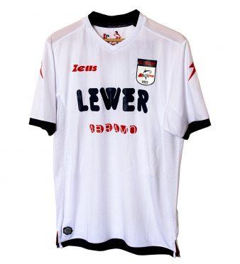Seconda maglia Crotone 2017-2018 bianca