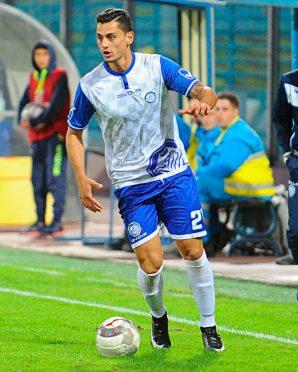 Seconda maglia Fidelis Andria 2017-2018