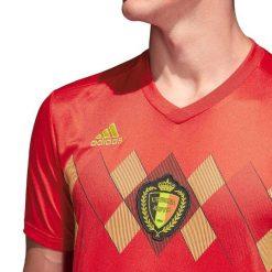 Grafica rombi sul petto, maglia Belgio Mondiali 2018