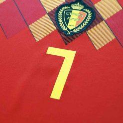Numero 7, maglia Belgio 2018-2020